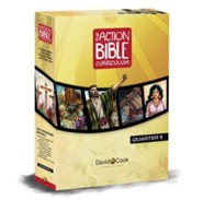 The Action Bible Curriculum Quarterly Kit Q1 (Preteen)