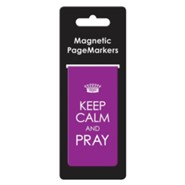 Keep Calm and Pray Magnetic Bookmark, Large