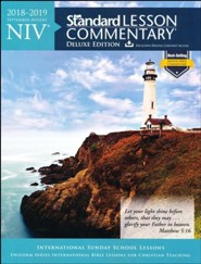 NIV &#174 Standard Lesson Commentary&#174 Deluxe Edition 2018-2019
