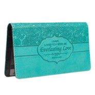 Everlasting Love Checkbook Cover