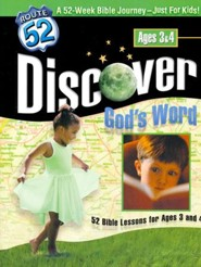 Discover God's Word: 52 Bible Lessons for Ages 3 and 4
