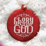 Hand-Drawn Ornament Glory to God