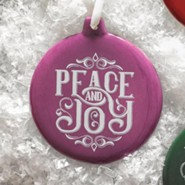 Hand-Drawn Ornament Peace and Joy