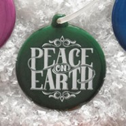 Hand-Drawn Ornament Peace on Earth