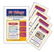 50 Things You Should Know About U.S. Government: Elections Flash Cards