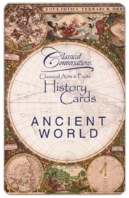 Classical Conversations History Cards: Ancient World
