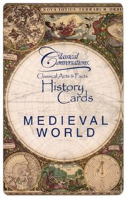 Classical Conversations History Cards: Medieval World