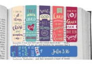 For God So Loved, Magnetic Bookmarks, Set of 6