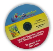 Exploring Creation with Chemistry & Physics Vocabulary Flash Cards PDF CD-ROM