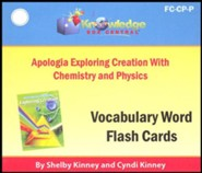 Exploring Creation with Chemistry & Physics Vocabulary Flash Cards (Printed Edition)