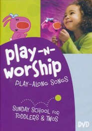 Play-n-Worship: Play-Along Songs for Toddlers & Twos--DVD