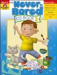 The Never-Bored Kid Book 2, Ages 4-5