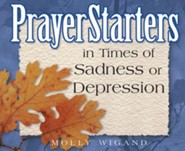 PrayerStarters in Times of Sadness or Depression / Digital original - eBook
