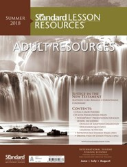 Standard Lesson Resources: Adult Resources, Summer 2018