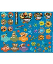 Maker Fun Factory VBS: Theme Sticker Sheets, 10 sheets sheets)