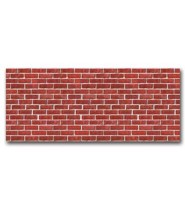 Red Brick Plastic Backdrop (30'x4')