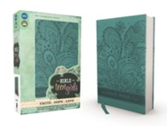 Imitation Leather Turquoise Book