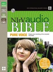 NIrV Pure Voice Audio Bible on CD