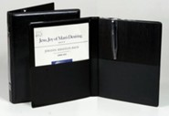 Choral Rehearsal Folder 9 x 12 with Gusset Pockets Black