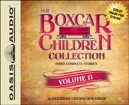 The Boxcar Children Collection Volume 11: The Mystery of the Singing Ghost, The Mystery in the Snow, The Pizza Mystery Unabridged Audiobook on CD