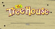 TreeHouse VBS Nametag Stickers, pack of 100