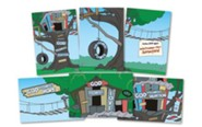 TreeHouse VBS Decorative Poster Set, pack of 6