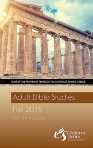 Adult Bible Studies Fall 2015 Student - Large Print - eBook