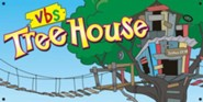 TreeHouse VBS Hanging Banner Display