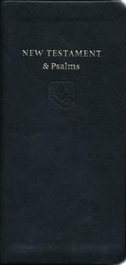 Bibles nrsv single column christianbook nrsv slimline new testament and psalms anglicized imitation leather black fandeluxe Image collections
