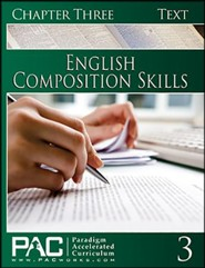 PAC English 2: Composition Skills Student Text, Chapter 3