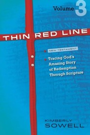 Thin Red Line, Volume 3: Tracing God's Amazing Story of Redemption Through Scripture - eBook