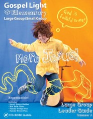 Gospel Light: Elementary Grades 1-4 Large Group Leader Guide, Winter 2019-20 Year A