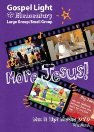 Gospel Light: Elementary Grades 1-4 Large Group Mix It Up! DVD, Winter 2019-20 Year A