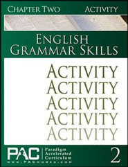PAC: English Grammar Skills Activities Booklet, Chapter 2