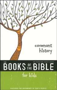 NIrV The Books of the Bible for Kids: Covenant History, Softcover