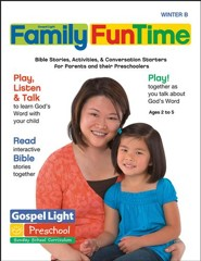 Gospel Light: Preschool-Kindergarten Family FunTime Pages, Winter 2018-19 Year B