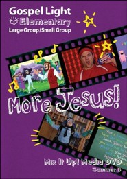 Gospel Light: Elementary Large/Small Group Mix It Up! DVD, Summer 2021 Year B