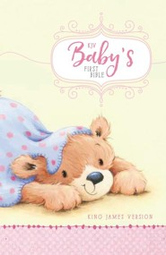 KJV Baby's First Bible Pink, Hardcover