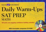 Daily Warm-Ups: SAT Prep-Math with CD-Rom