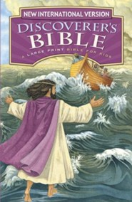 NIV Discoverer's Large-Print Bible, Hardcover