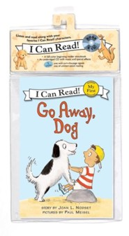 Go Away, Dog Book and CD  -     By: Joan L. Nodset     Illustrated By: Paul Meisel