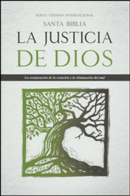 Santa Biblia NVI La Justicia de Dios, NVI God's Justice: The Holy Bible, hardcover