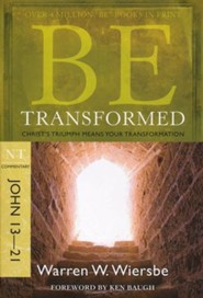 Be Transformed (John 13-21), Repackaged