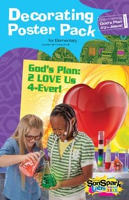 VBS 2015 SonSpark Labs - Decorating Poster Pack (Grades 1-6/Ages 6-12)