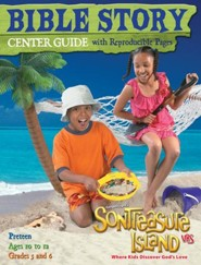 VBS 2014 SonTreasure Island - Bible Story Center Guide: Preteen