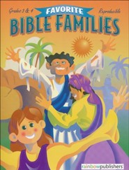 Favorite Bible Families, Grades 3 & 4