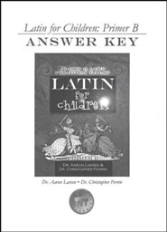Latin For Children, Primer B Answer Key