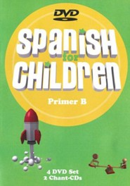 Spanish for Children Primer B DVD Set with CD