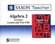 Saxon Teacher for Algebra 2, 3rd Edition on CD-ROM