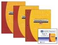 Saxon Math 7/6 Homeschool Kit & Saxon Teacher, 4th Edition